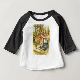 Alice en Fawn Baby T Shirts