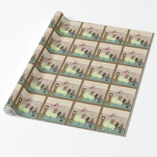 Alice & Hazen in Sprookjesland meer dan Baby Inpakpapier