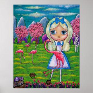 Alice in de Egel van het Sprookjesland & van het Poster