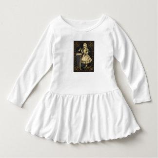 Alice in de gift van de de meisjesverjaardag van baby jurk