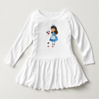 Alice in de reeks van het Sprookjesland #1 Baby Jurk