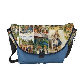 Alice in de Zak van het Sprookjesland Courier Bags