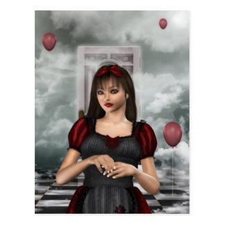 Alice in Droom Briefkaart