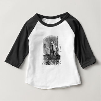 Alice in een Spiegel Baby T Shirts