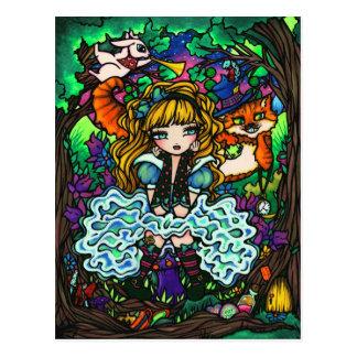 Alice in het Briefkaart van het Sprookjesland