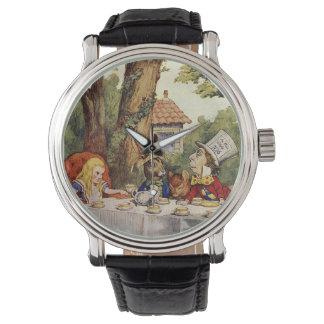 Alice in het Horloge van het Theekransje van het