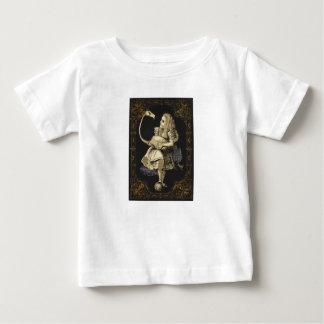 Alice in het Overhemd Alice van het Sprookjesland Baby T Shirts