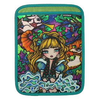 Alice in het Sleeve van de Kat van Cheshire van he Sleeves Voor iPad