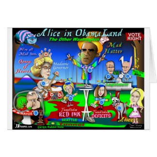 Alice in ObamaLand Kaart