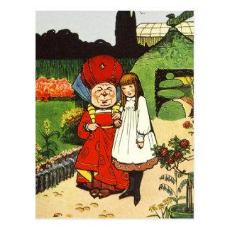 Alice in Sprookjesland: Alice en de Hertogin Briefkaart