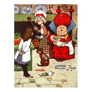 Alice in Sprookjesland: De hertogin met haar Briefkaart