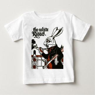 Alice in Sprookjesland; Een spel. Het witte Konijn Baby T Shirts
