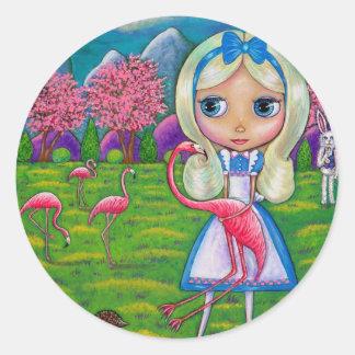 Alice in Sprookjesland en de Sticker van