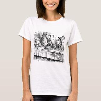Alice in vintage de drukt-shirt van het t shirt