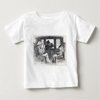 Alice op de Trein Baby T Shirts