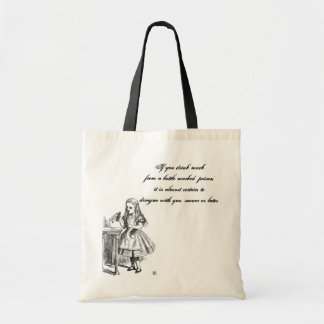 Alice Quote Bag Draagtas