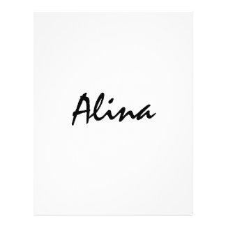 Alina met Keltische Betekenis Fullcolor Folder