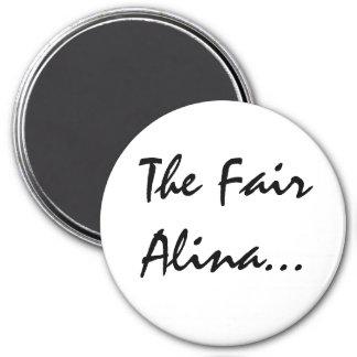 Alina met Keltische Betekenis Koelkast Magneten
