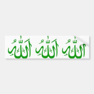 Allah Bumpersticker