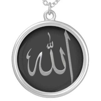 Allah Zilver Vergulden Ketting
