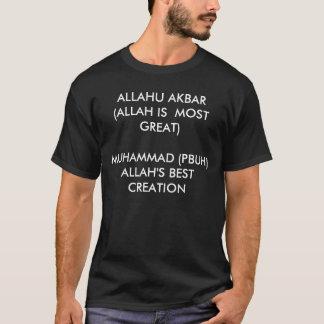 ALLAHU AKBAR (ALLAH IS MEESTE GROOT) MUHAMMAD (PB… T SHIRT
