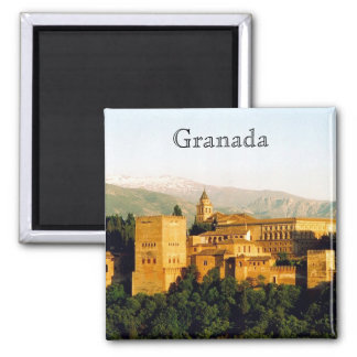 allambra Granada Vierkante Magneet