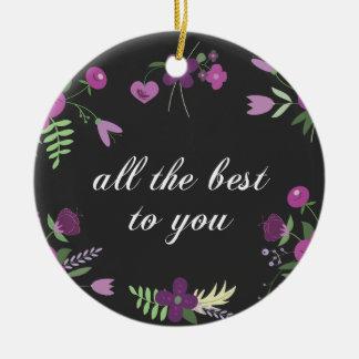 Alle beste rond keramisch ornament