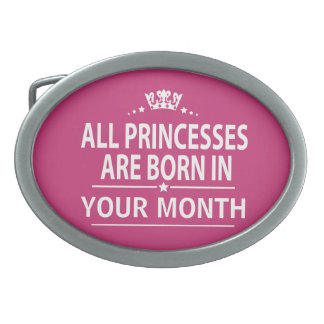 Alle binnen geboren prinsessen gesp