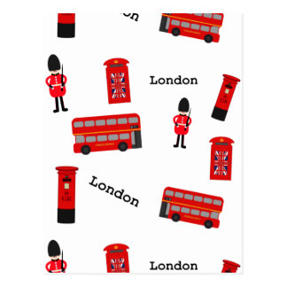 Alle Dingen Londen Briefkaart