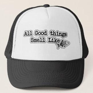 Alle Goede dingen ruiken als Vissen Grappige Trucker Pet
