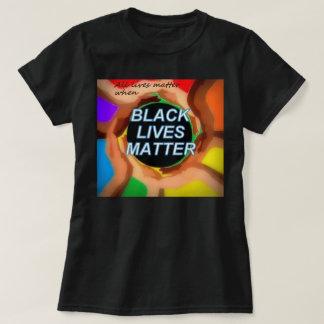 (Alle leven is wanneer) van belang de ZWARTE T Shirt