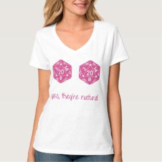 Alle Natuurlijke 20 Borsten dobbelen T Shirt