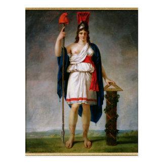 Allegorie van de Republiek Briefkaart