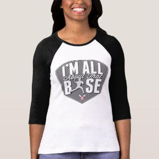 Allen over Die T-shirt van het Honkbal van Basis