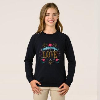 allen u bent liefde wenst trui
