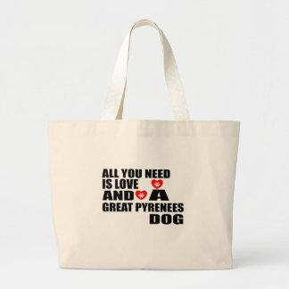 Allen u vergen Design van de Honden van de Grote Draagtas