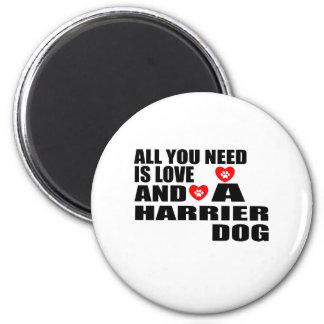 Allen u vergen het Design van de Honden van de Magneet
