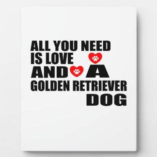 Allen u vergen het Design van de Honden van het Fotoplaat