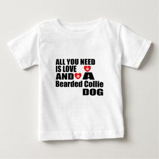 ALLEN U WENST IS DESIGN van de HONDEN van de Baby T Shirts