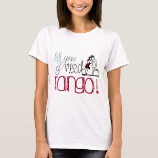 Allen u wenst is het citaat van de Tango T Shirt