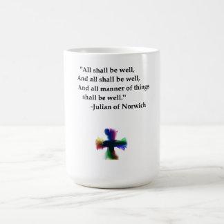 Allen zullen goed zijn koffiemok