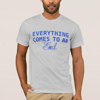 Alles eindigen t shirt