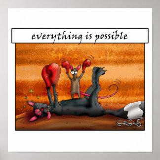 Alles is mogelijk! Motivatie Poster