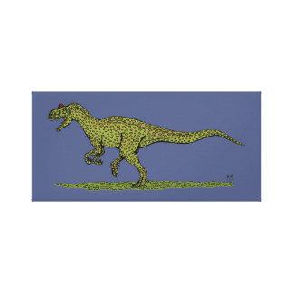 Allosaurus Canvas Print