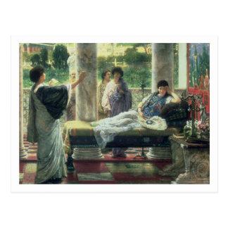 Alma-Tadema | Catullus die zijn Gedichten lezen Briefkaart