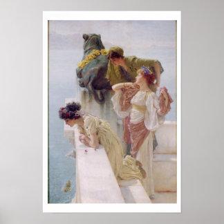 Alma-Tadema | Coign van Voordeel, 1895 Poster