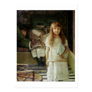 Alma-Tadema | dit is onze Hoek, 1873 Briefkaart