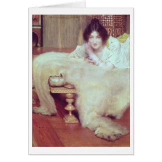 Alma-Tadema | een Luisteraar: Deken van het Beer, Kaart