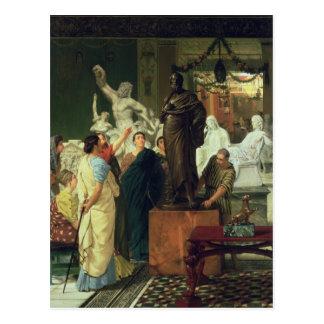 Alma-Tadema | Handelaar in Standbeelden Briefkaart