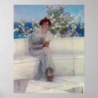 Alma-Tadema | het Jaar is bij de Lente Poster